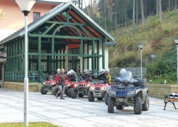 Quad bikes and go-karts